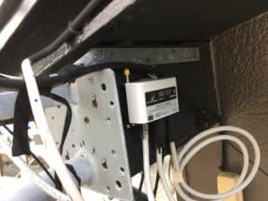 デラックスアンテナの屋外用分配器の設置 中間市にて