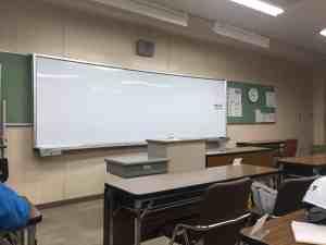 一日目は座学。最後に試験があるから真剣に受講。