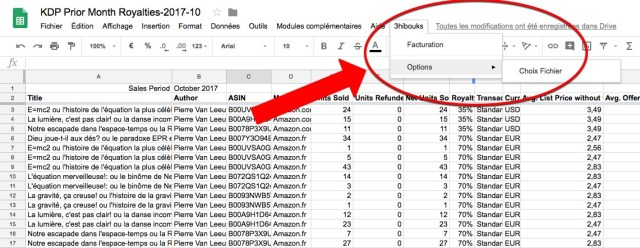 Google Apps Script - Personnalisation du menu pour y intégrer les tâches répétitives