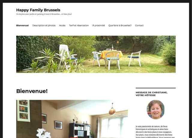 Website Happy Family