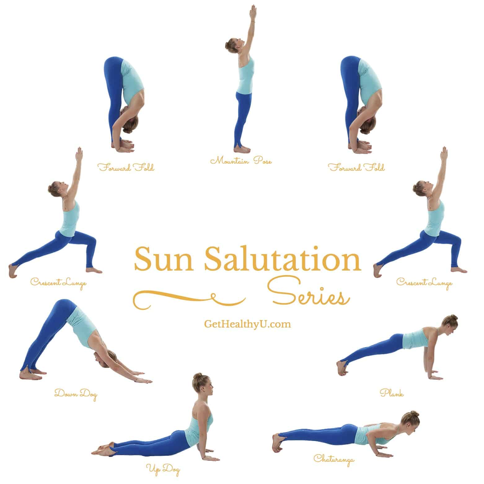 How To Do A Sun Salutation - Get Healthy U