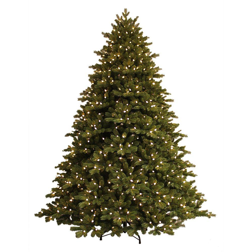 How Many Lights For A 7 Foot Christmas Tree