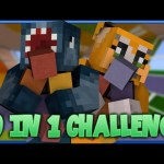 10 IN 1 CHALLENGE! Minecraft Custom Map W/Stampy!