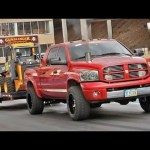 1/8 Mile Trailer Tow – Day 3 of Diesel Power Challenge 2014!