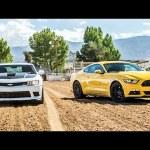 2015 Ford Mustang GT vs. 2015 Chevrolet Camaro SS – Head 2 Head Ep. 58