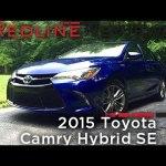 2015 Toyota Camry Hybrid SE – Redline: Review