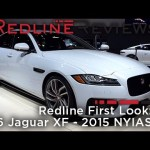 2016 Jaguar XF – Redline: First Look – 2015 New York Auto Show