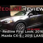 2016 Mazda CX-9 – Redline: First Look – 2015 Los Angeles Auto Show