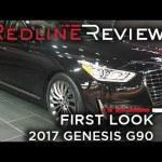 2017 Genesis G90 – Redline: First Look – 2016 Detroit Auto Show