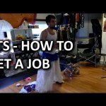 """Behind the Scenes – """"How to Get a Job"""" My Life Scoop Blog Video"""