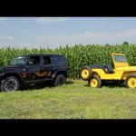 Farming with a 1951 Willys CJ-3A and 2013 Jeep Wrangler Unlimited! – Dirt Every Day Ep. 13