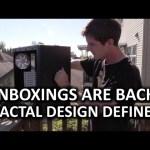 Fractal Design Define S Unboxing – The Triumphant Return!