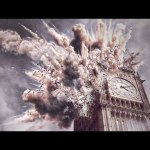 Impacto explosión en el Big Ben – Speed art (#Photoshop) | CreativeStation