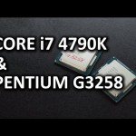 "Intel Core i7 4790K & Pentium G3258 ""Anniversary Edition"""