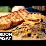 Mushroom, Leek and Tarragon Pasta – Gordon Ramsay