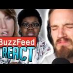 PEWDIEPIE REACTS TO BUZZFEED REACTING TO PEWDIEPIE