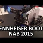 Sennheiser Booth – AVX, LAVs Powered by Apogee – NAB 2015