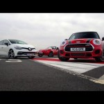 Shootout – 2015 Mazda MX-5 vs Mini Cooper S JCW,  Renault Clio RS 220 Trophy and Toyota GT 86