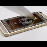 The Satisfaction of Scratching a 24K Gold iPhone 6