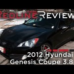 2012 Hyundai Genesis Coupe 3.8 Review, Walkaround, Exhaust, & Test Drive