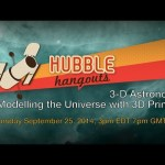 3D Astronomy: Modelling the Universe with 3D Printers