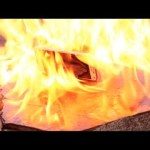 Burning a New Samsung Galaxy S5 – Will it Survive?