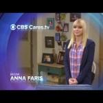 CBS Cares – Anna Faris on Breast Cancer