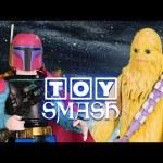 DISNEY Meets STAR WARS in Toy Smash!!