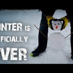 """Exploding Snowman – Winter is """"Officially"""" Over! – TB#3"""