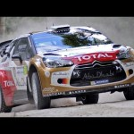 Flat out at Goodwood with Sébastien Loeb in his Citroën DS3 World Rally car