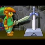 Legend of Zelda: A Link Between Worlds Stop Motion 3D Chalk Art – AWE me Artist Series