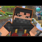Minecraft: LuckyBlock Wars – حرب مكعبات الحظ انا قوى