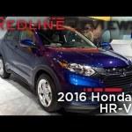 Redline First Look: 2016 Honda HR-V