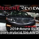 2014 Acura RLX Sport-Hybrid SH-AWD – 2013 Los Angeles Auto Show