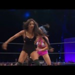Final Moments of Knockouts Title Match Gail Kim vs. Jade