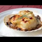 Coquilles St Jacques – Creamy Scallop & Mushroom Gratin Recipe