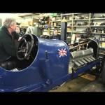 Video blog: Malcolm Campbell's Bluebird land speed record car start up