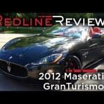 2012 Maserati GranTurismo Convertible Sport Review, Walkaround, Exhaust, Start-Up & Rev