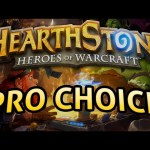 Hearthstone: Pro Choice – Lord of the Gimmicks