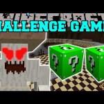 Minecraft: CRUSHROOM CHALLENGE GAMES – Lucky Block Mod – Modded Mini-Game