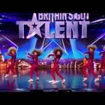 Dancers Mini Moves' hair-raising audition | Britain's Got Talent 2014