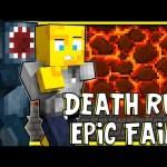 Minecraft – Death Run FAILS! W/AshDubh!