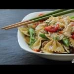 Chicken Recipes – How to Make Sesame Pasta Chicken Salad