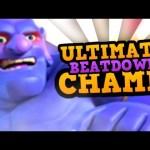 ULTIMATE CHAMPION BEATDOWN GOD!! :: Clash Royale Pro Tips w/ TOBIAS SPIRITHAWK