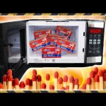 Lighting Matches in a Microwave is Weird
