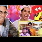 سعودي ريبورترز في يوتيوب ريوايند ٢٠١٧   ردة فعل بيودي باي!!!