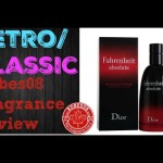 Fahrenheit Absolute by Christian Dior Fragrance Review (2009) | Retro Series