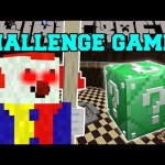 Minecraft: SCARY CLOWN CHALLENGE GAMES – Lucky Block Mod – Modded Mini-Game