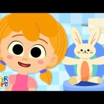 Sitting On The Potty | Kids Songs | Super Simple Songs