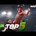 5 Most INSANE AJ Styles Dives in IMPACT Wrestling | GWN Top 5